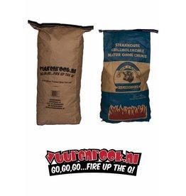 Vuur en Rook BBQ Fuel Combo: 10 kilo Vuur&Rook by Dammers + 15 kilo Black Ranch Quebracho (Argentinie)