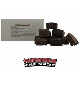 NEW! Ecobrasa Coconut Eco Fire Block 24 stuks