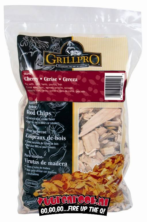 GrillPro Rook CHIPS Cherry 900 gram