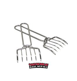GrillPro GrillPro Meat Claws RVS