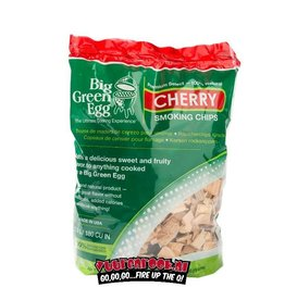 Big Green Egg Woodchips Cherry
