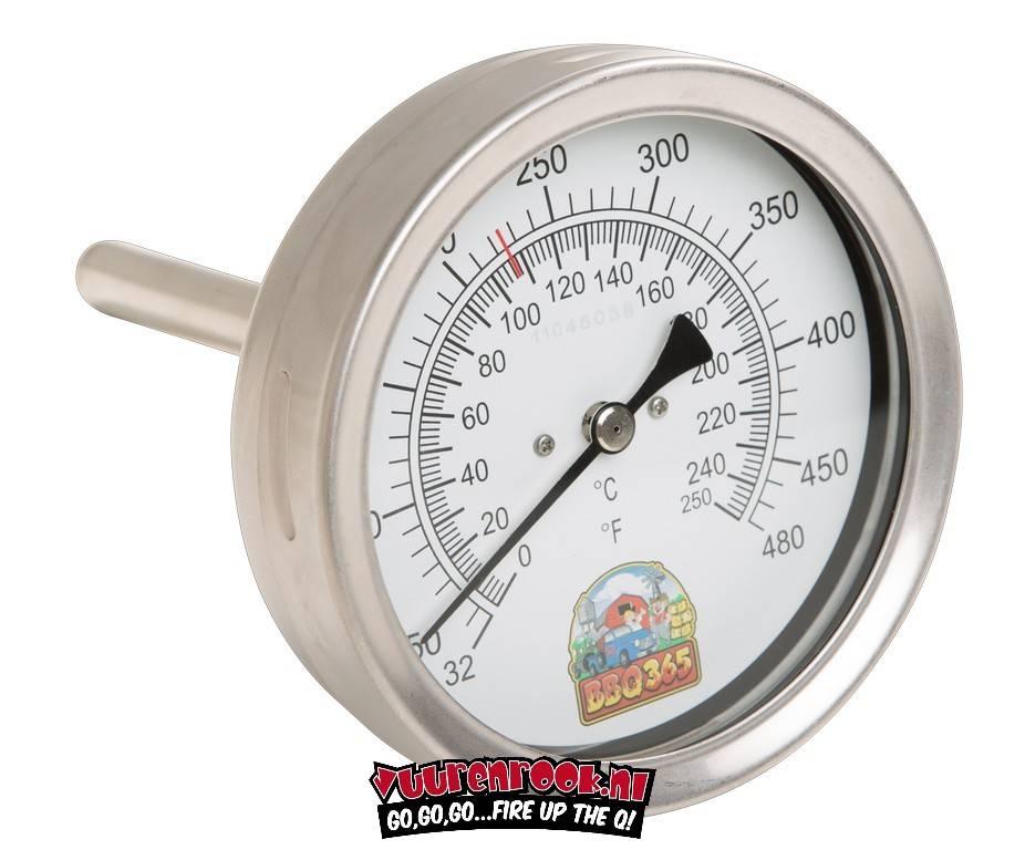 BBQ365 RVS Thermometer 150mm
