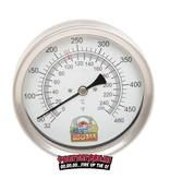 bbq365 BBQ365 Edelstahl Thermometer 100mm