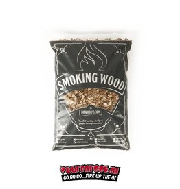 BBQHout.com Rookchips 6mm Whiskey (flavoured) 1 kilo