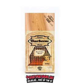 Axtschlag Rook Plank Red Cedar XL 2st. 400x170x13mm