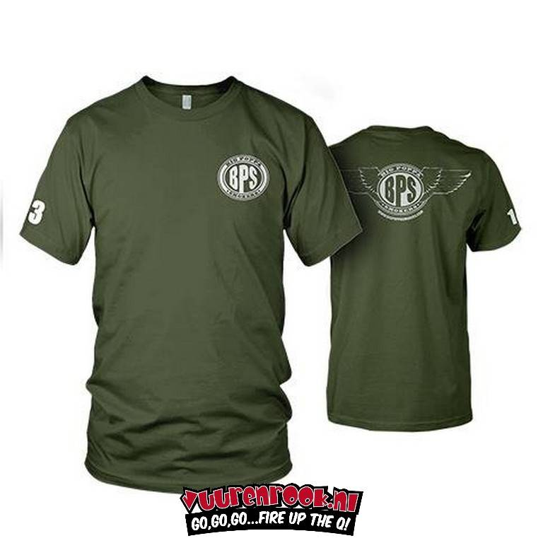 Big Poppa Smokers Mobile Command T-Shirt Large