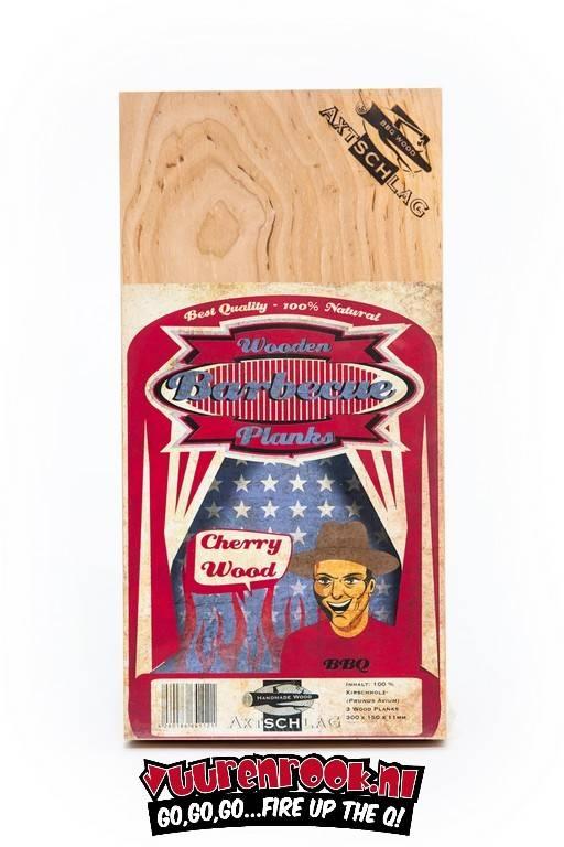 Axtschlag Rook Plank Cherry 3st. 300x150x11mm