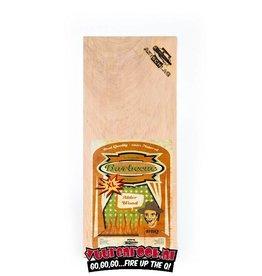Axtschlag Axtschlag Rook Plank Alder XL 2st. 400x170x13mm