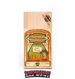 Axtschlag Axtschlag Rook Plank Alder 3st. 300x150x11mm