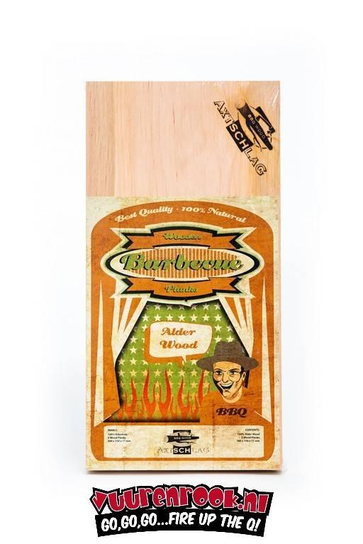 Axtschlag Rook Plank Alder 3st. 300x150x11mm