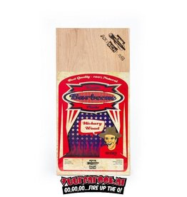 Axtschlag Axtschlag Rook Plank Hickory 3st. 300x150x11mm