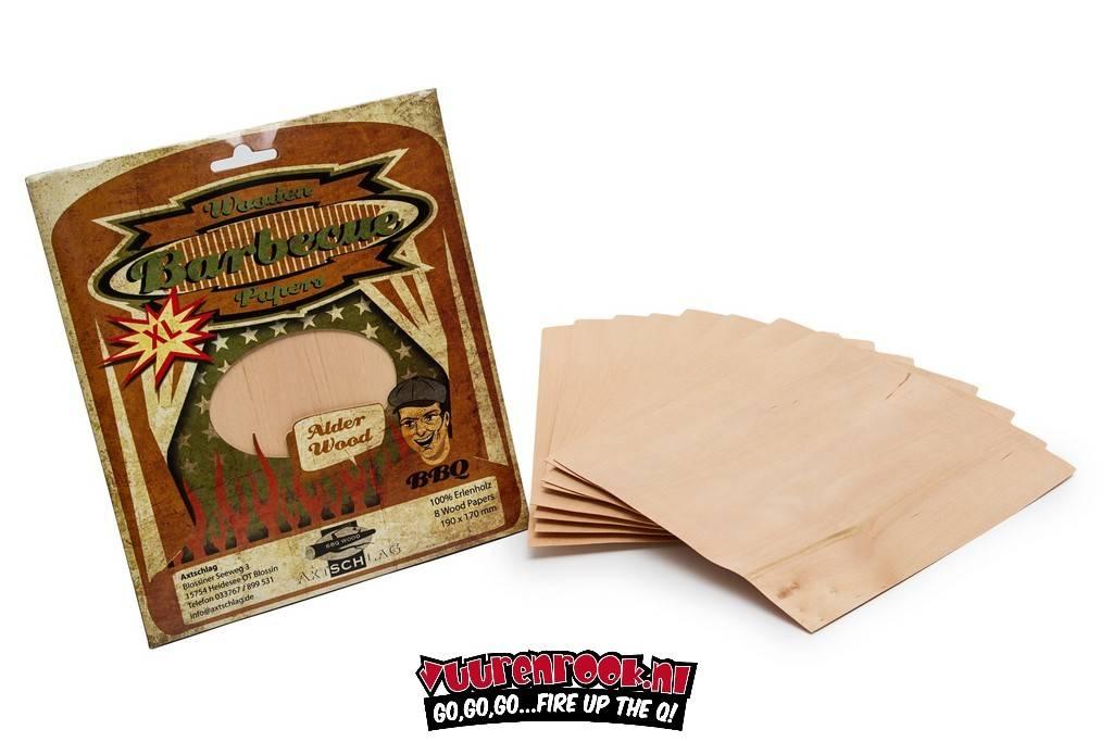 Axtschlag Wood Papers  Alder XL 8 stuks 19x17cm
