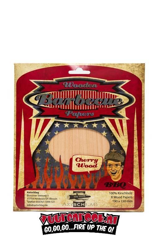 Axtschlag Wood Papers  Cherry 8 stuks 19x15cm