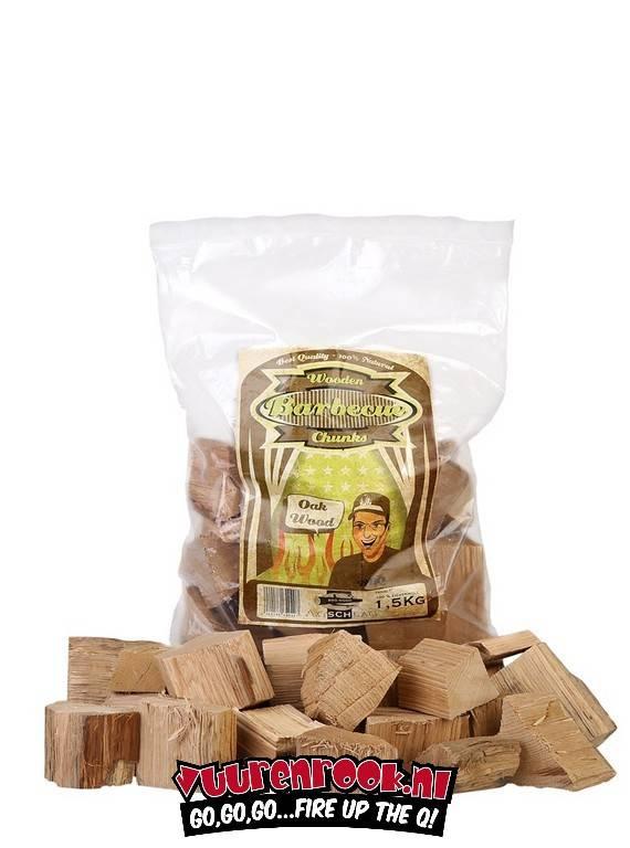 Axtschlag Axtschlag Oak Chunks 1,5 Kilo