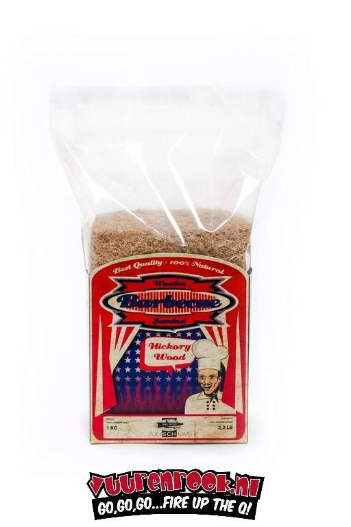 Axtschlag rookmot Hickory 1 kilo (geschikt voor CSG)