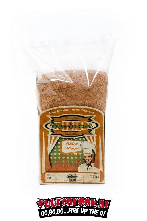 Axtschlag rookmot Alder 1 kilo (geschikt voor CSG)