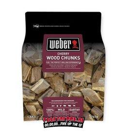 Weber Weber Cherry/Kers Chunks 1,5 kilo