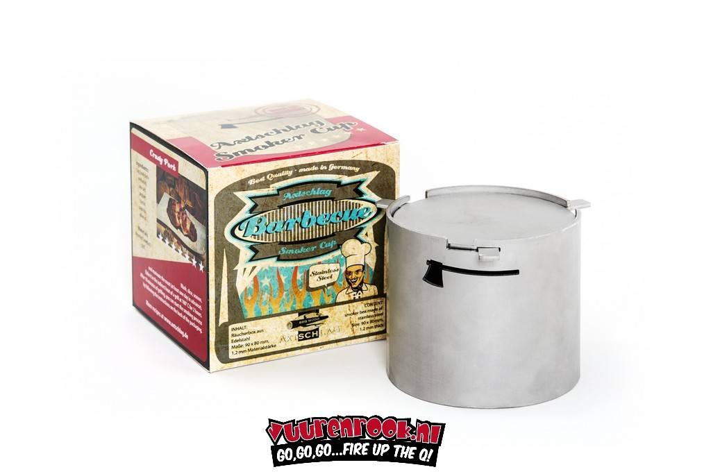 Axtschlag Heavy Duty RVS Smoker Pot
