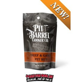 Pit Barrel Cooker Pit Barrel Cooker Beef and Game Rub 5oz / 142 gram