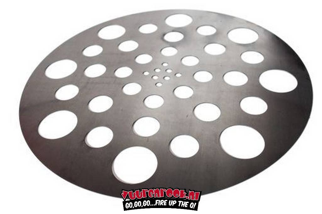 Gate Way Drum Smokers Heat Diffuser plate 55 Gallon
