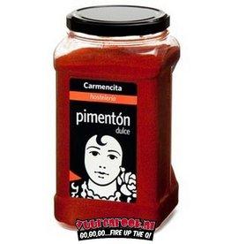 Carmencita Carmencita Pimenton Dulce (gerookt paprika poeder) 900 gram