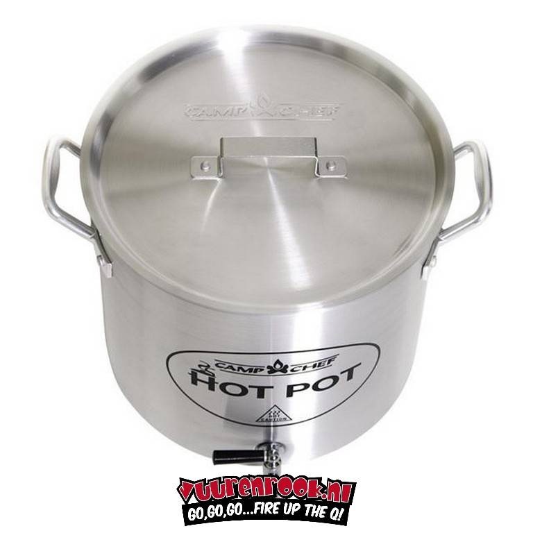 CampChef Aluminum Hot Water Pot (met Kraan!)