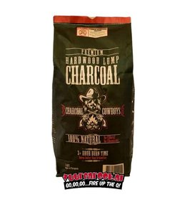 Charcoal CowBoys Quebrancho Blanco Lump Charcoal 15 kilo