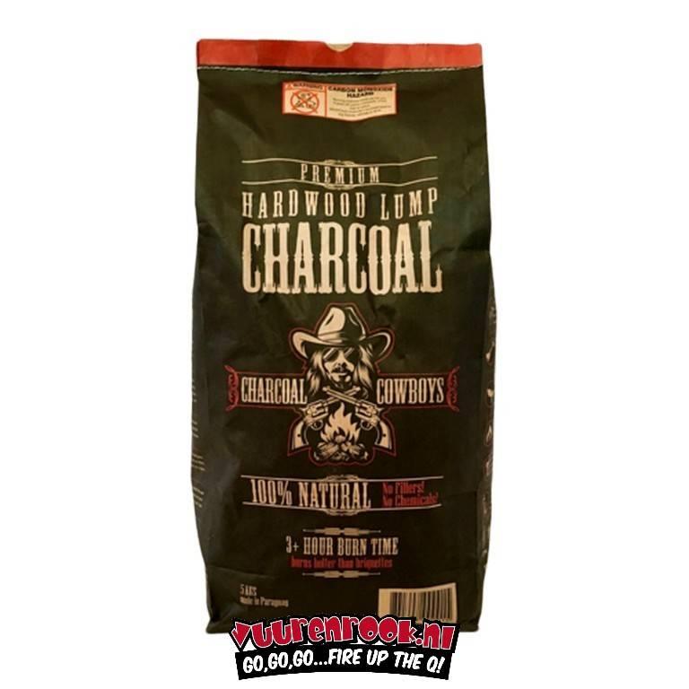 Charcoal CowBoys Quebrancho Blanco Lump Charcoal 15 kilo