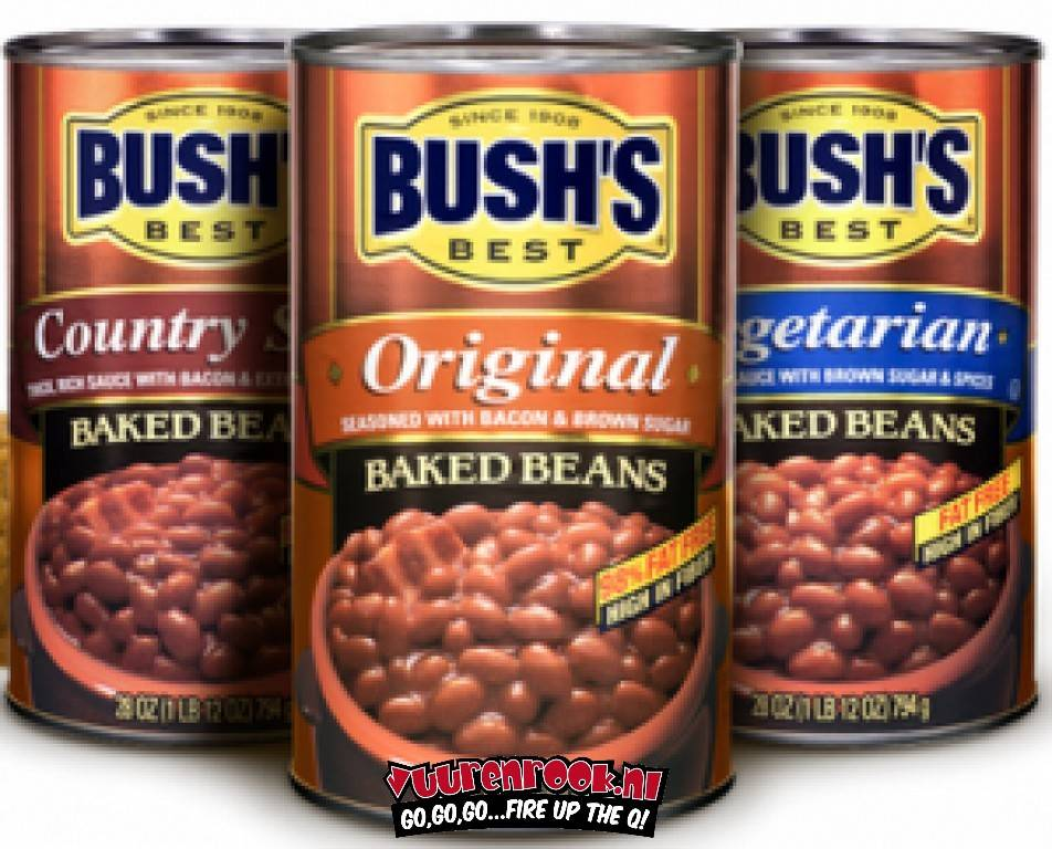 Bush Baked Beans 1x Original 1x Vegetarian, 1x Country Style (3x794 gram)