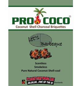 ProCoco kokosbriketten 5x2 kilo (cubes)