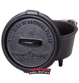 Campchef CampChef 3/4 qt Cast Iron Mini Dutch Oven