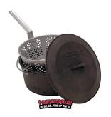 CampChef Fry and Steam Pot (frituur / stoof pan) 7 liter incl alu mand