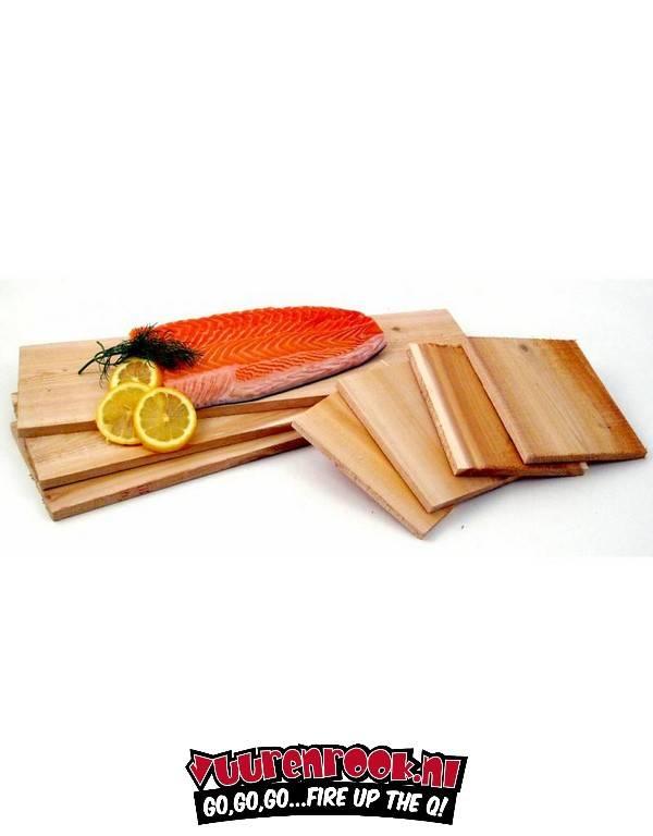 Cedar Salmon Smoking Plank