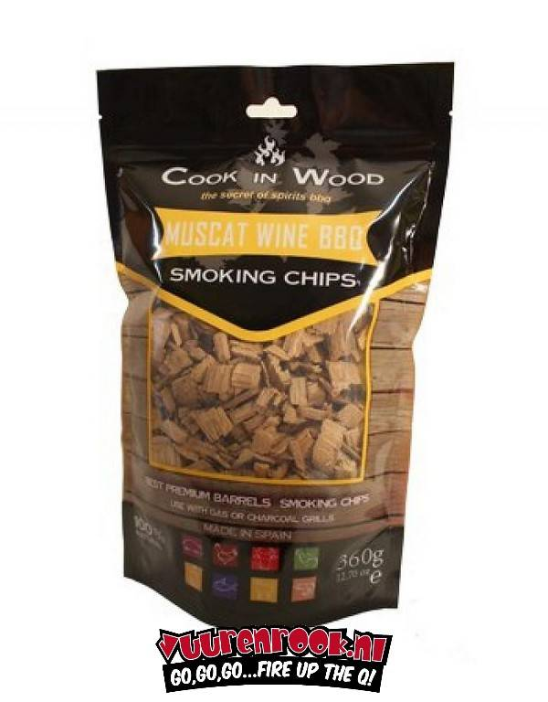 Cook in Wood Moscatel 360 gram