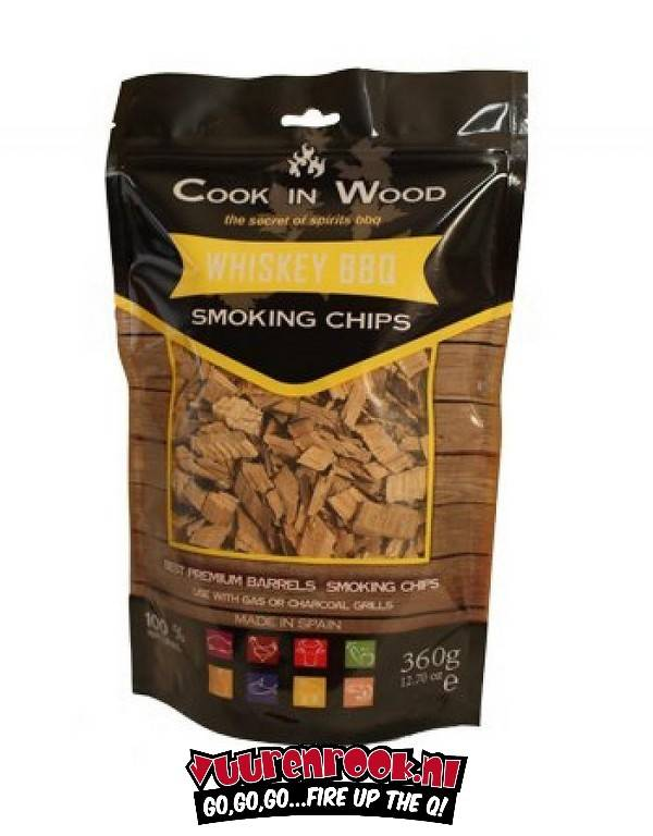 Cook in Wood Whiskey 360 gram