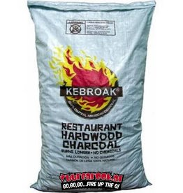 Kebroak Restaurant Hardwood Charcoal 40lbs / 18,2 kilo