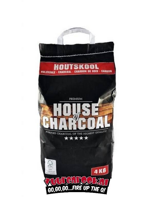 House of Charcoal Horeca Houtskool 4 kilo