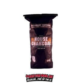 House of Carcoal House of Charcoal Horeca Acacia (Zuid Afrika Black Wattle) Houtskool 10 kilo