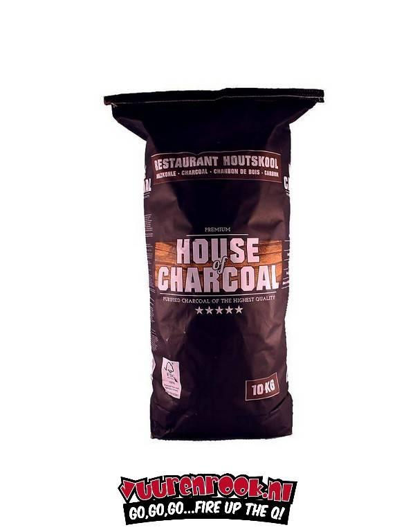 House of Charcoal Horeca Acacia (Zuid Afrika Black Wattle) Houtskool 10 kilo