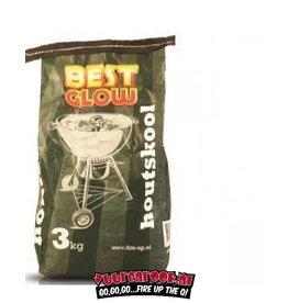 Best Glow BUDGET Best Glow Houtskool 3 kg