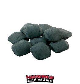 Green Heat Green Heat BBQ Acacia (Zuid Afrika Black Wattle) Briketten 16 kilo (pilow shape)