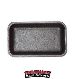 Schuimtray zwart 60st. Om breekbare produkten te beschermen bij vacumeren. 135x180x22mm