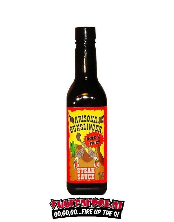 Arizona Gun Slinger Bold 'n Spicy Steak Sauce 10 oz / 283 gram
