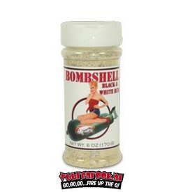 Twisted Belly Twisted Belly Bombshell Black and White rub XL 12oz