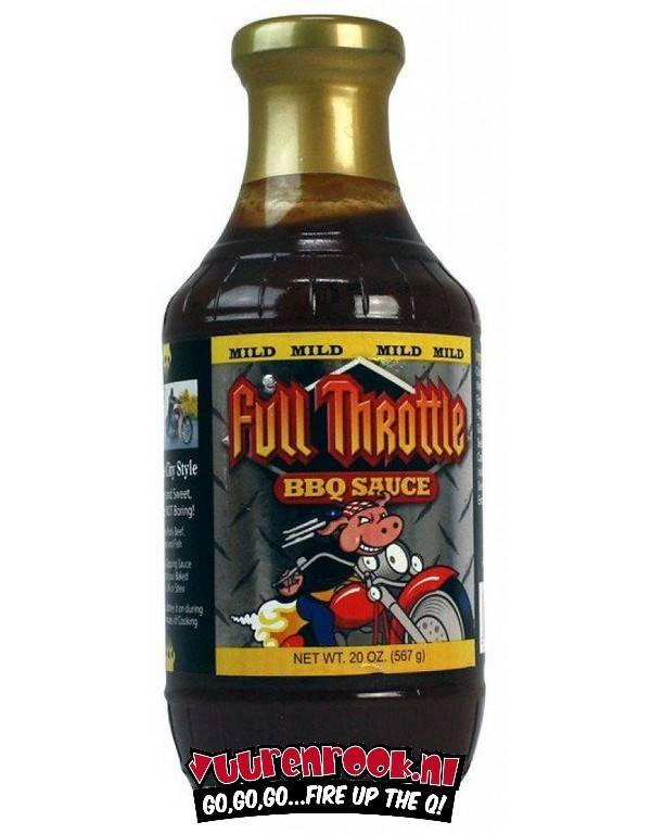 Full Throttle BBQ sauce Mild