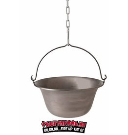 Big BBQ  Big BBQ Iron Stewing Pot (stalen stoofpot) 44cm / 22ltr