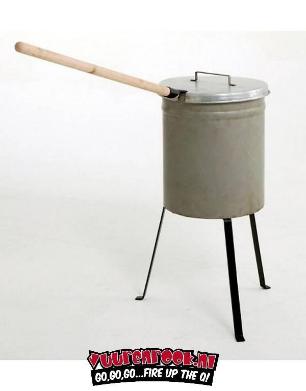 Kastanje / Aardappel poffer (of roken)