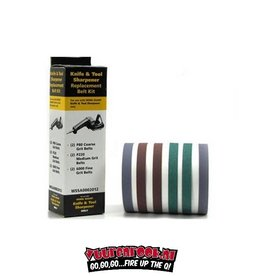 Work Sharp Assorted belt accessory kit. 6 stuks