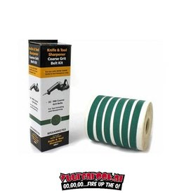 Work Sharp P80 Grit belt kit. 6 stuks