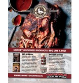 Smokey Goodness  Smokey Goodness 2  Het Next level BBQ boek. GESIGNEERD!